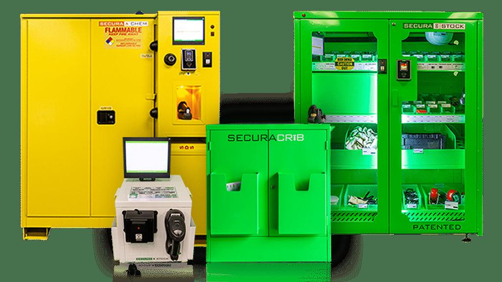 SecuraStock Inventory Management Machines